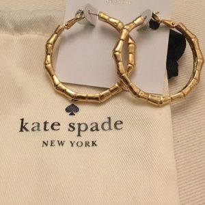 Kate Spade bamboo earrings